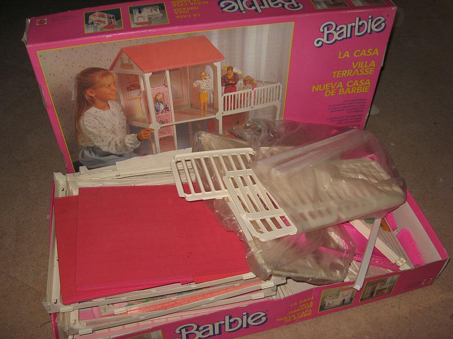 Barbie villa terrasse la casa maison incl neuf dans sa - Arreglar la casa de barbie ...